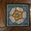 Thumbnail: Grueby Tile,  small floral w/ several colors