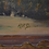 Thumbnail: Desert Landscape Painting, oil on board,   by A R Drew.
