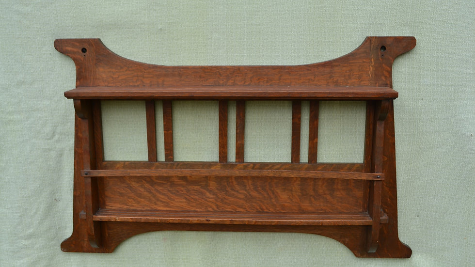 Shop of the Crafters plate rail