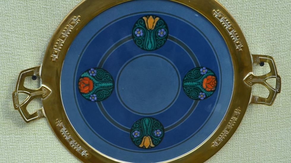 Christian Neureuther tray made by Waechtersbach