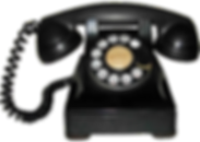 1940s rotary dial phone image
