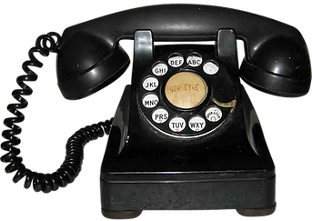 1940s rotary dial phone