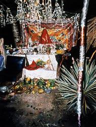 Altar for San Lazaro