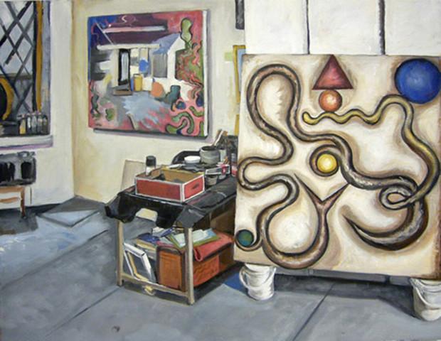 Interior with Melting Studio