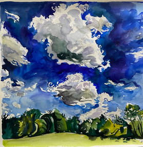 Summer Clouds  #1