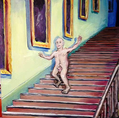 Nude Descending a Staircase