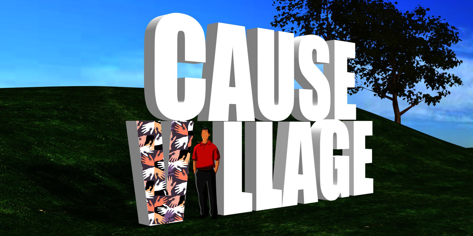 Candice Lee Smith_CauseVillage_Sign2_Fam