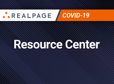 RealPage COVID-19 Resource Center: Managing rental housing's new challenges