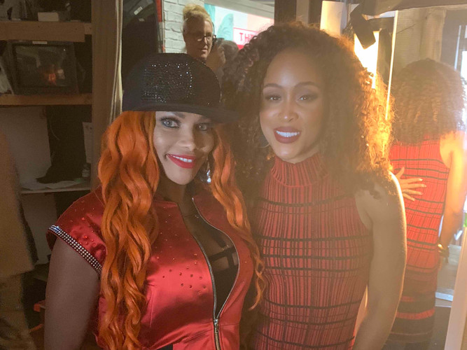 Salt-N-Pepa @ The Talk