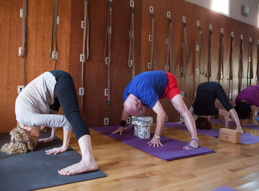 Yoga for those over 50: What Yoga Is, and How we teach beginners over age 50
