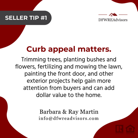 Curb Appeal Matters!