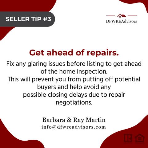 Get Ahead Of Repairs!