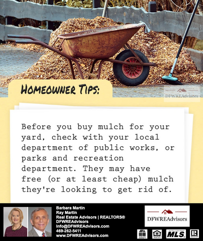 Before You Buy Mulch...