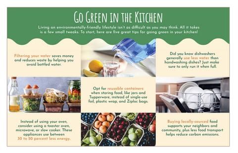 Go Green Kitchen Tip