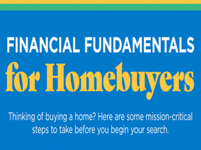 Financial Fundamentals for Homebuyers!
