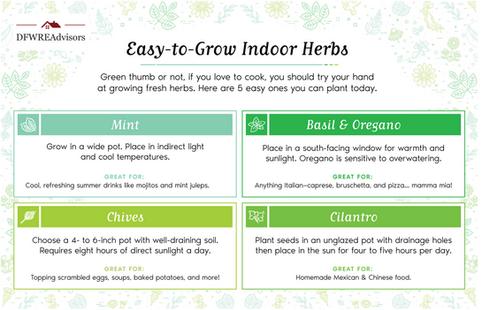 Grow Herbs Tip