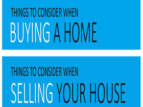Things To Consider When Buying Or Selling This Year!