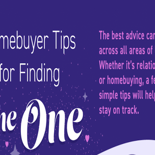 Homebuyer Tips for Finding the One!