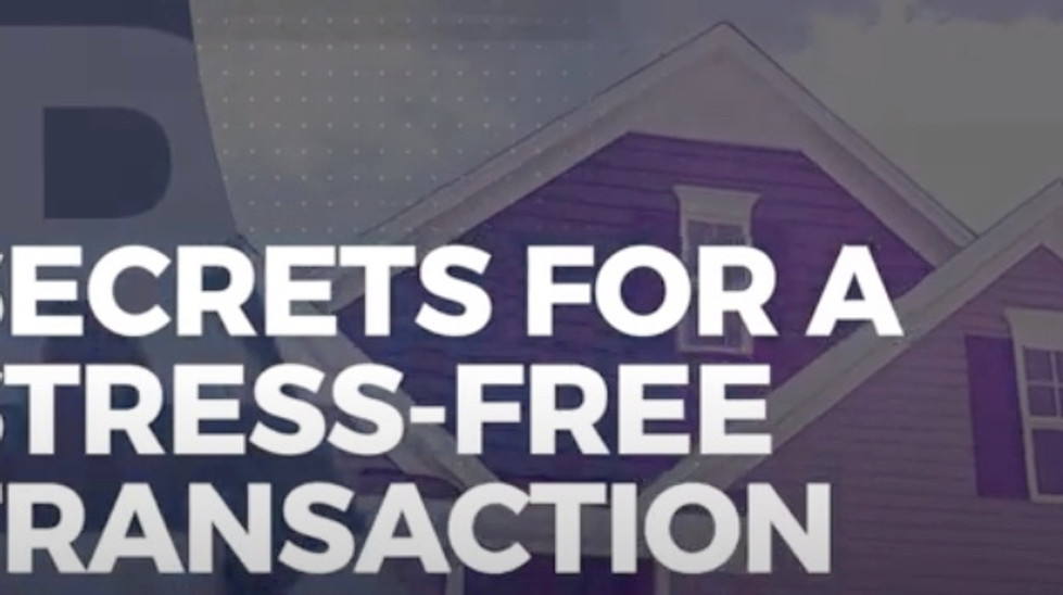 Secrets for a Stress-free Transaction!