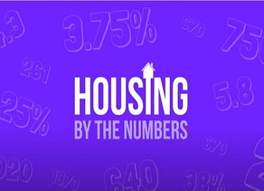 Housing by the Numbers!