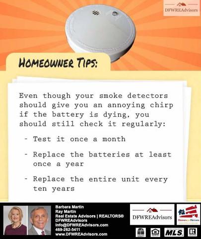 Smoke Detector Check