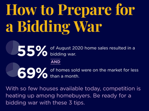 How To Prepare For A Bidding War!