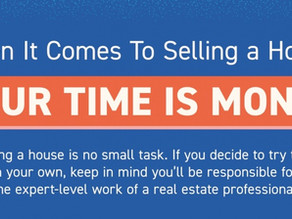 When It Comes To Selling a House, Your Time Is Money!