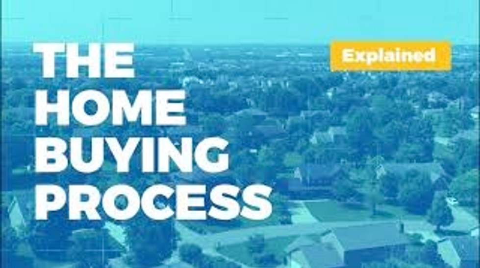 The Home Buying Process!
