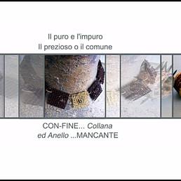 'Con-fine collana ed Anello mancante'. I miei gioielli per il museo degli Argenti in Palazzo Pitti.
