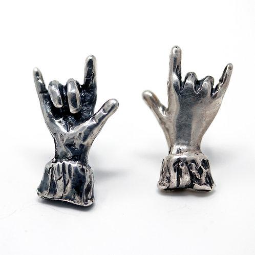 Microfficina Shop online. Orecchino singolo in argento