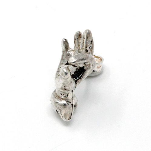 Orecchino in argento. Originali gioielli shop online