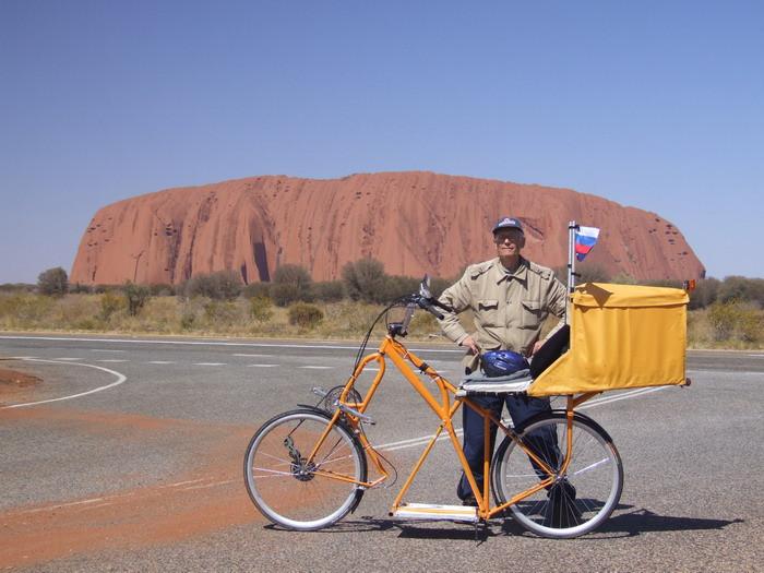 По Австралии на самодельном велосипеде (Cycling in Australia). (2007 г.)