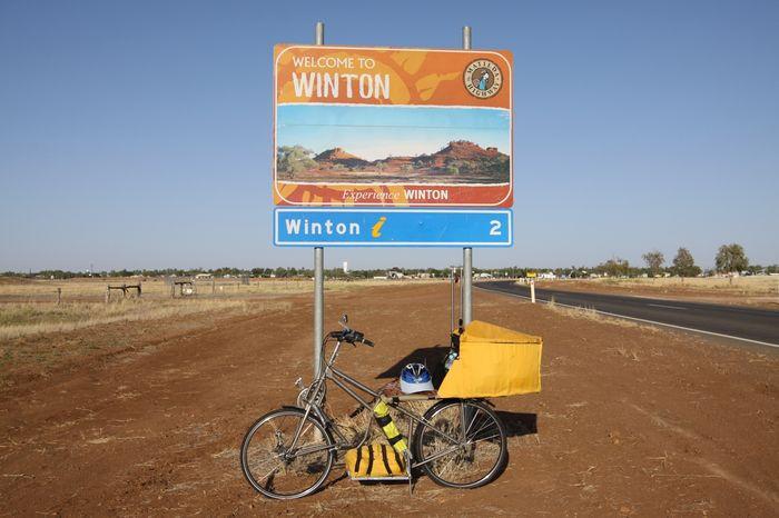 Четвертое испытательное велопутешествие по Австралии по маршруту Канберра – Рокхемптон - Винтон (200