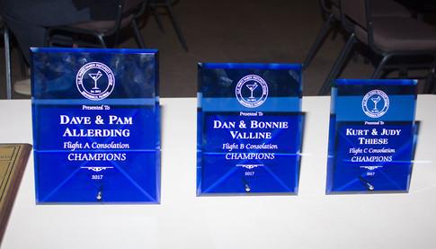 Awards for Flight A, Flight B and Flight C Consolation Champions