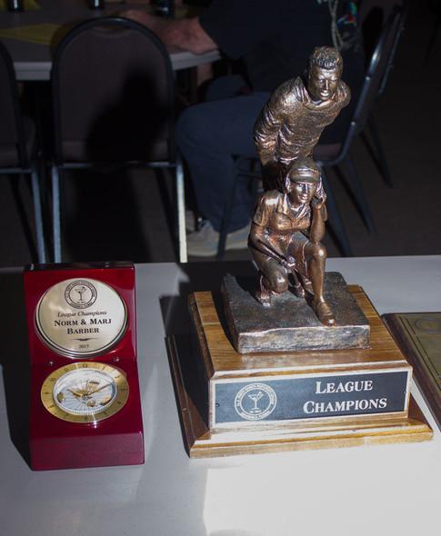 League Champion Trophies
