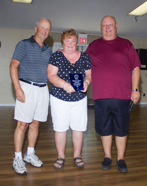 Consolations Flight C Champions - Kurt & Judy Thiese