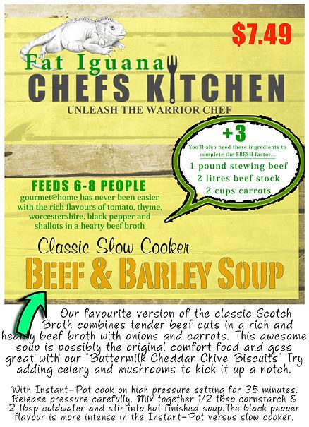 Beef & Barley Soup - website description