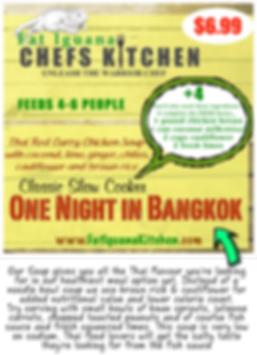 One Night in Bangkok Soup - website desc
