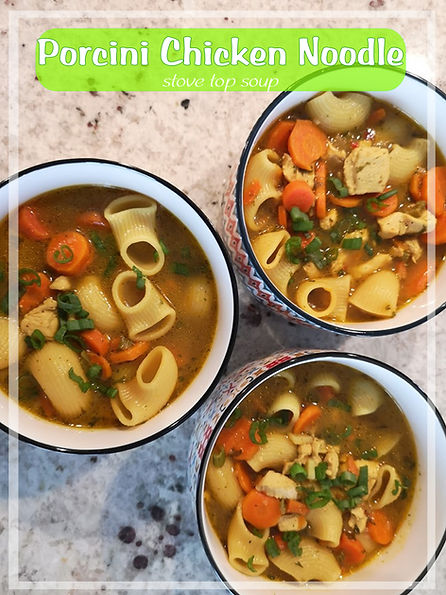 Porcini chicken Noodle - website image