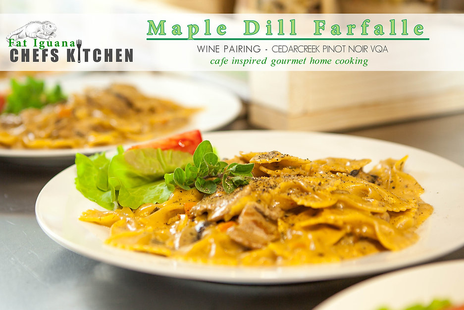 Maple Dill Farfalle - wine pairing .jpg