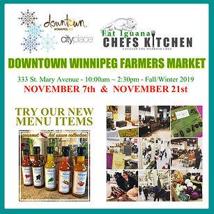 City Place market - November - Winter 20