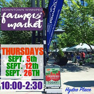 Hydro Place Market - Sept. website dates