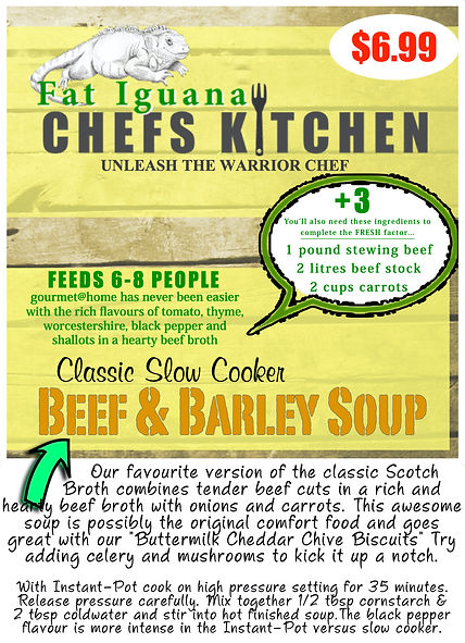 Beef & Barley Soup - website description