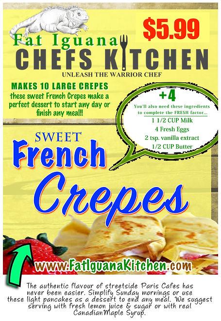 Sweet French Crepes - website descriptio