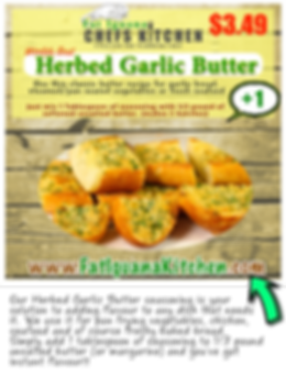 Herbed Garlic Butter - website descripti