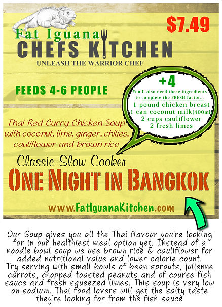 One Night in Bangkok Soup - website desc