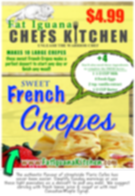 Sweet French Crepes - website descriptio