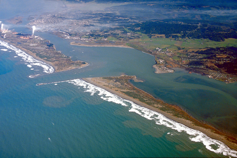 Humboldt Bay and Eureka, California
