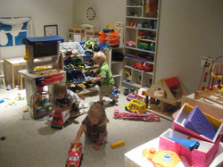 Early childhood play area