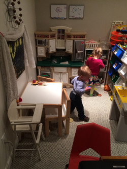 Early childhood kitchen area